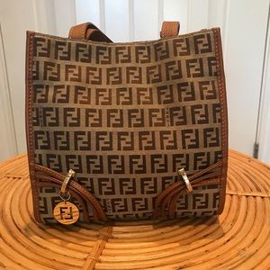 Fendi Mini Shopper Tote